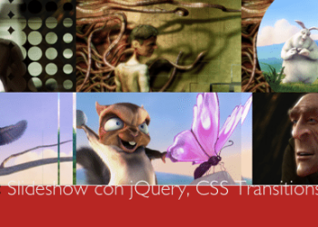 Slider.js, slideshow con jQuery, CSS Transitions y Canvas