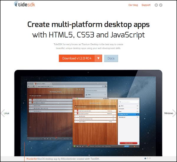 Desarrollo de aplicacioens de escritorio multi-plataforma