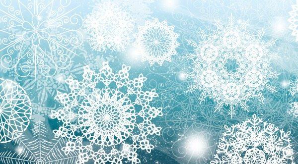 Snowflakes-brushes-photoshop