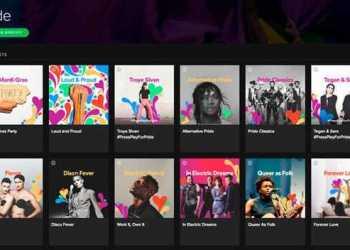 Nueva catero Pride de Spotify