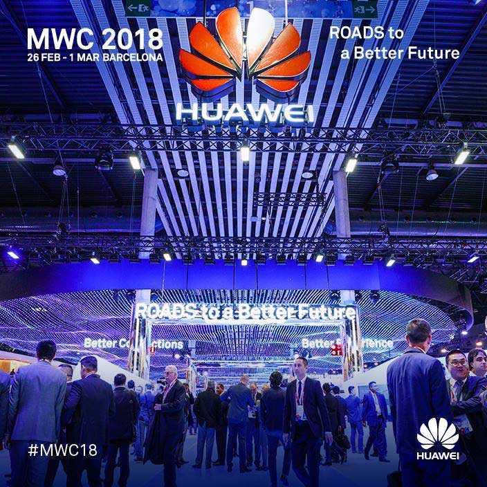 Huawei #MWC2018