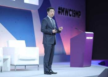 """Ken Hu entrega una charla magistral titulada """"Redefiniendo la inclusión digital"""" en el Programa Ministerial en el MWC2019"""