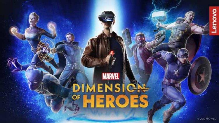 Dimension of Heroes - Marvel