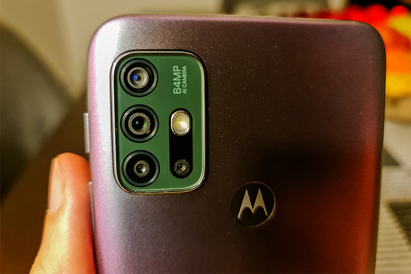 Modulo de cámaras traseras del Moto G30
