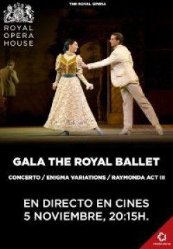 GALA THE ROYAL BALLET | 5 de noviembre, 20:15h