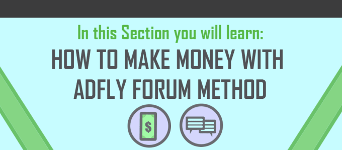 AdFly Forum Method