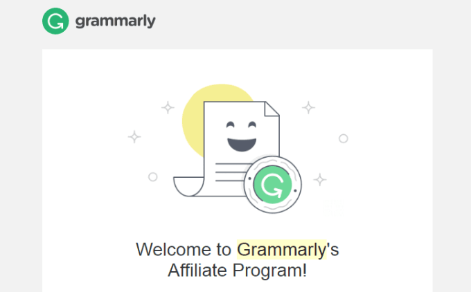 Grammarly Affiliate Program Approved