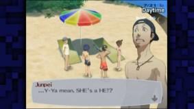 """Eine Nebenfigur in """"Persona 3″ gesteht indirekt, dass sie ein Mann ist und sich ein """"boy toy"""" angeln wollte."""