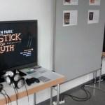 Installationen im Ausstellungsraum