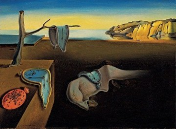 """The Persistence of Memory"" von Salvador Dali"