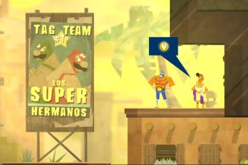 "Das #1 Tag Team ""Los Super Hermanos"" in Guacamelee"