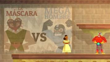 La Máscara vs. Mega Hombre