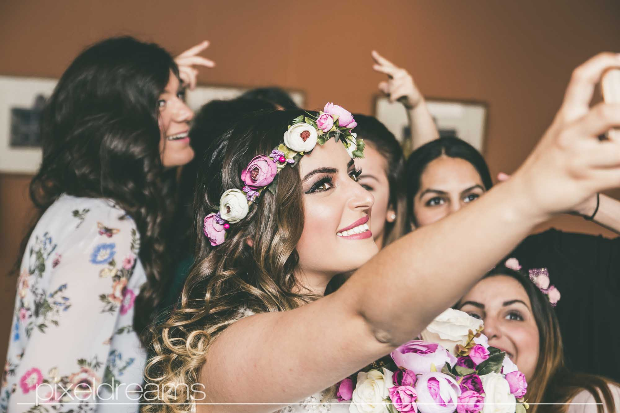 Braut - Brautselfie - Selfie