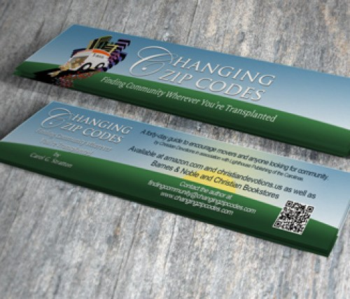 Changing Zip Codes Bookmark