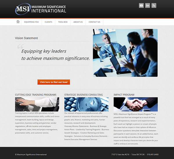 Maximum Significance International Website
