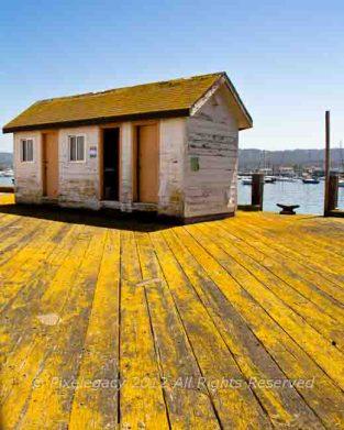Yellow Pier, Monterey CA