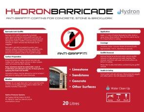 BarricadeLabel20L