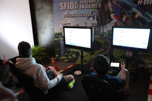 Mario Kart 8 Day postazione di gioco