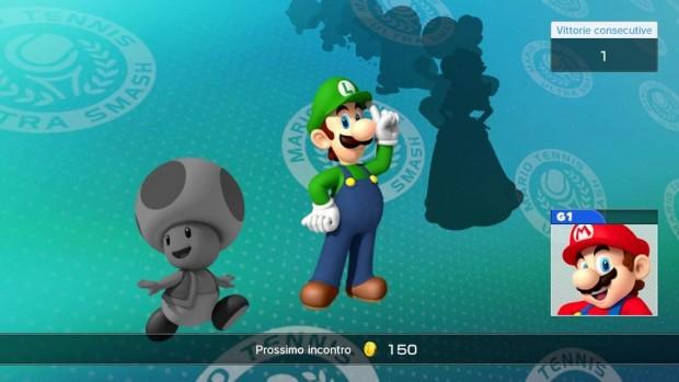 Selezione del prossimo incontro, Luigi costa 150 monete d'oro.