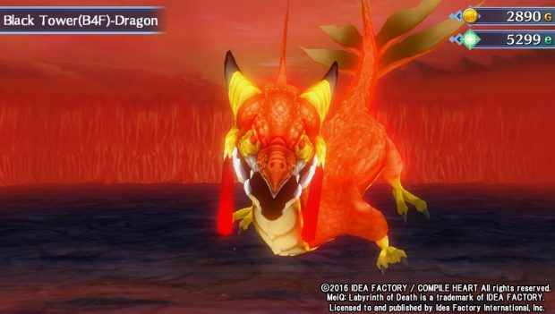 Forse questo drago ha una malattia al volto