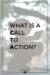 what is a call to action