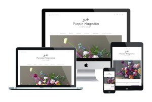 Starter Website + Genesis Theme Customization // The Purple Magnolia