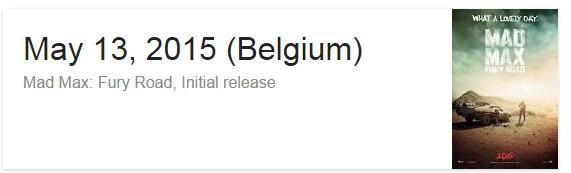 googlesearch movier releaseday