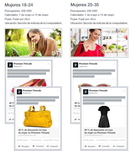 Segmentación anuncio de Facebook