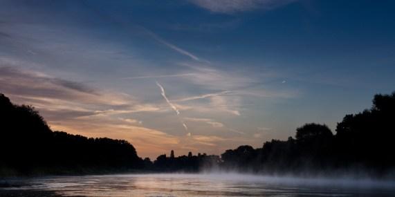 Sonnenaufgang über Bad Oeynhausen