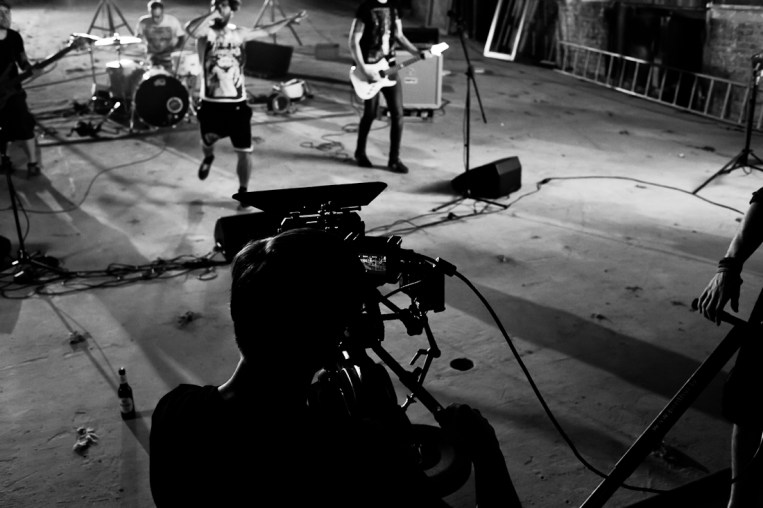 Making of Fotos vom Choose Your Path »Compass Roses Never Fade« Videodreh