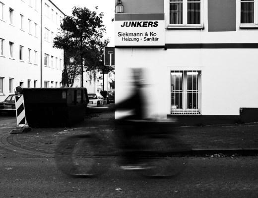 Radfahren.