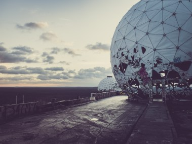 Flugüberwachungs- und Abhörstation auf dem Teufelsberg in Berlin