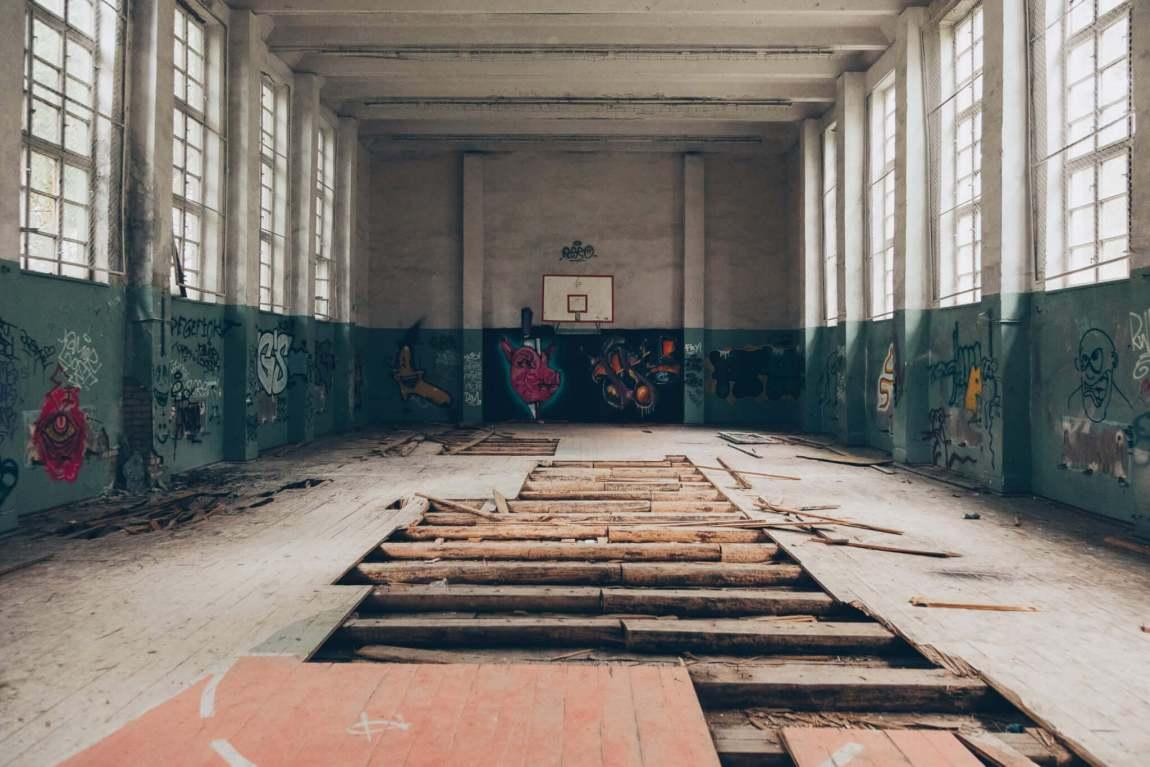Kaserne Vogelsang - Eine verlassene Garnison