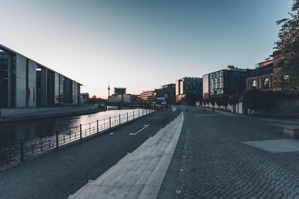 Berlin Mitte wacht auf
