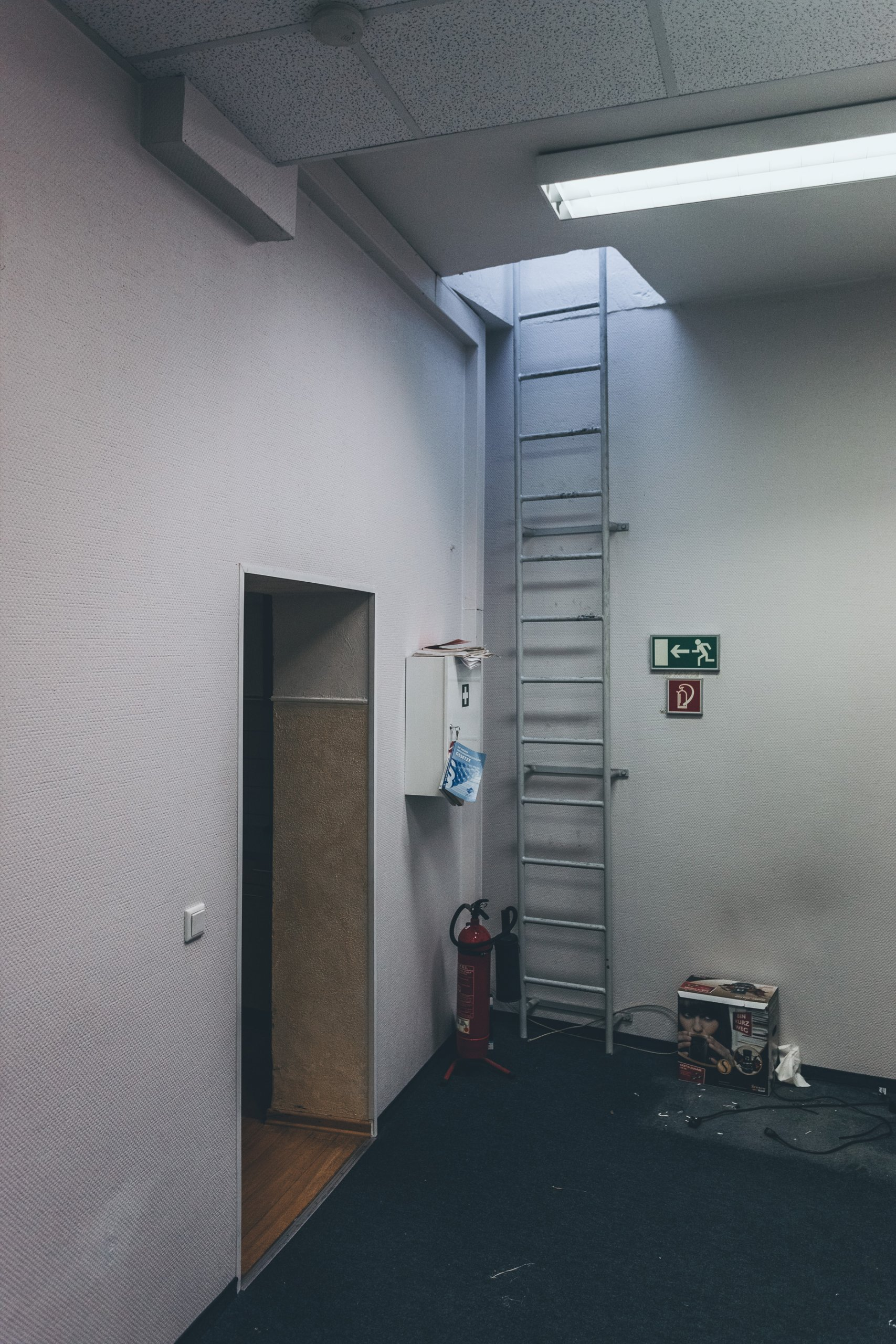 Das verlassene Bürogebäude in NRW