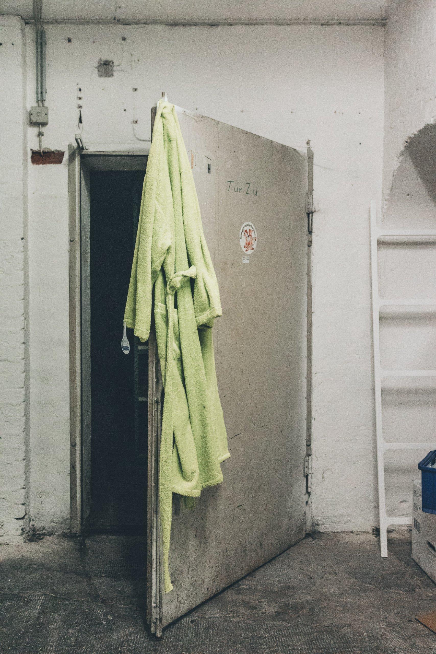 Die verlassene Sanitärausstellung
