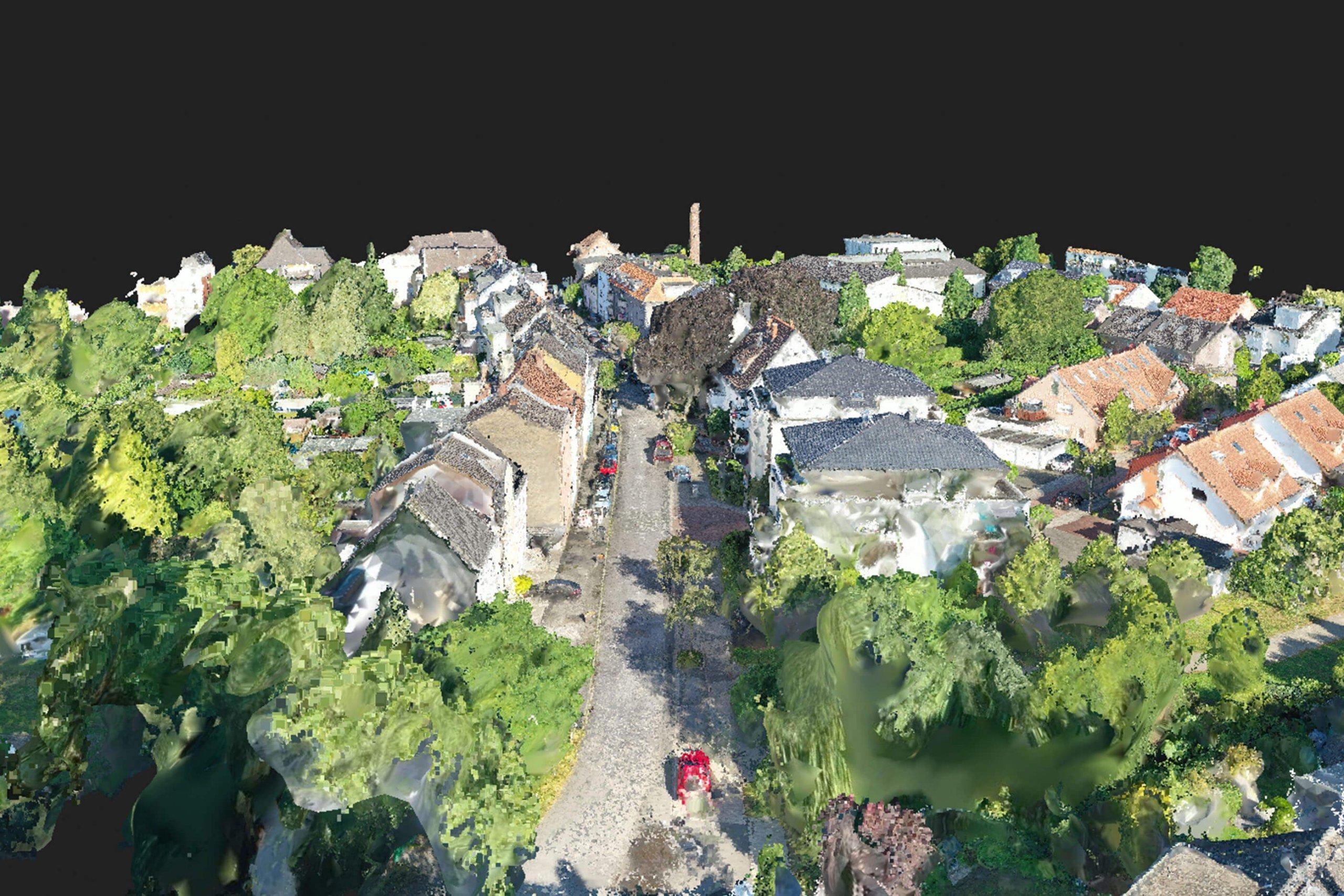 Photogrammetrie mit Drohnen