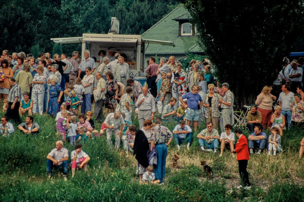 Von früher: Die Weserfloßfahrt im Sommer 1992