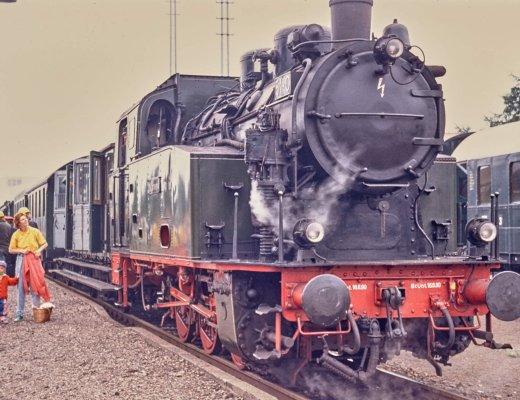 Von früher: Museums-Eisenbahn Minden 1993