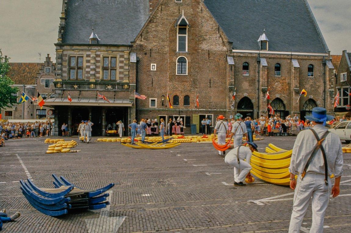 Von früher: Alkmaar im Sommer 1986