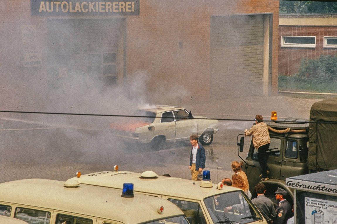 Von früher: Bad Oeynhausen im Sommer 1985