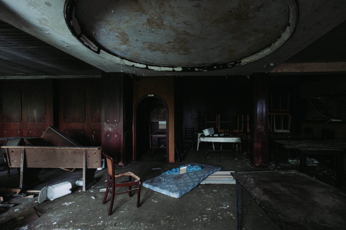 Das verlassene Berghotel