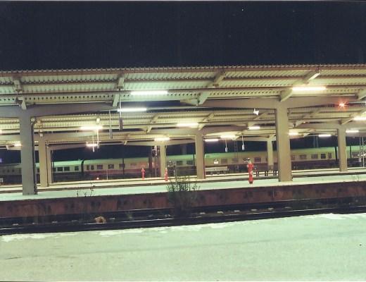 Bahnhof in Lichtenberg