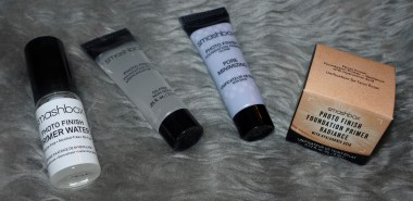 Smashbox Primer Water, Photo Finish primer, Pore Minimising primer & Photo Finish Foundation Primer Radiance primer