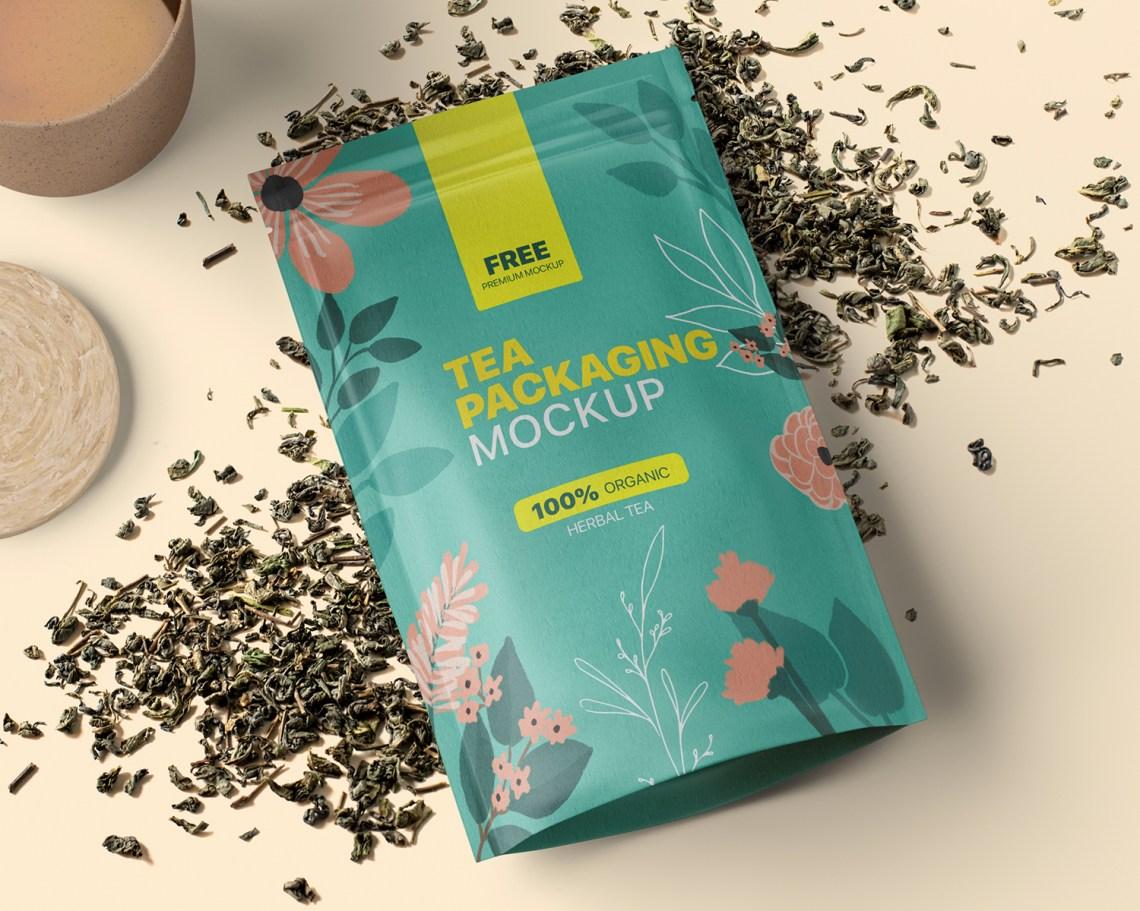 Download Free Tea Packaging Mockup - Free Mockups, Packaging ...