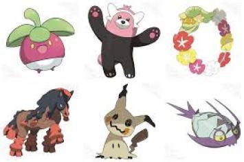 pokemon sun moon new pokemon
