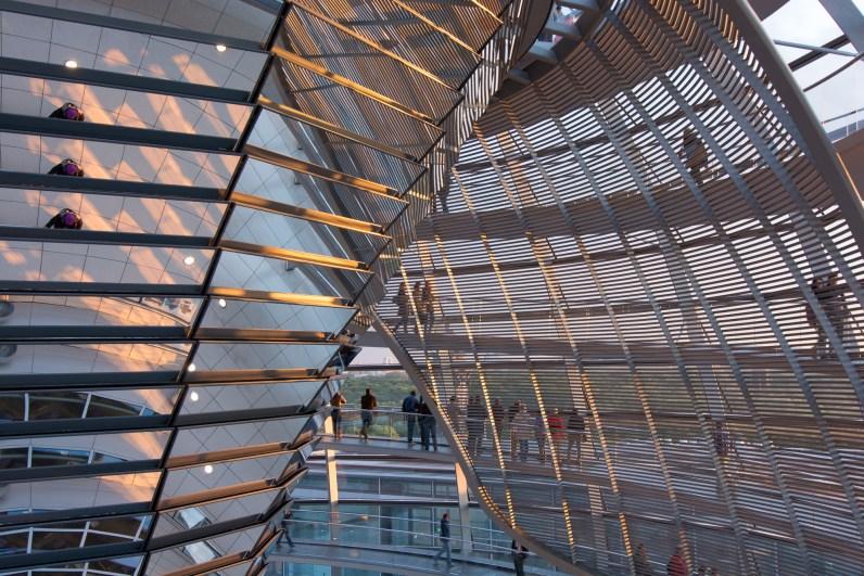 Reichstags - Kuppel innen