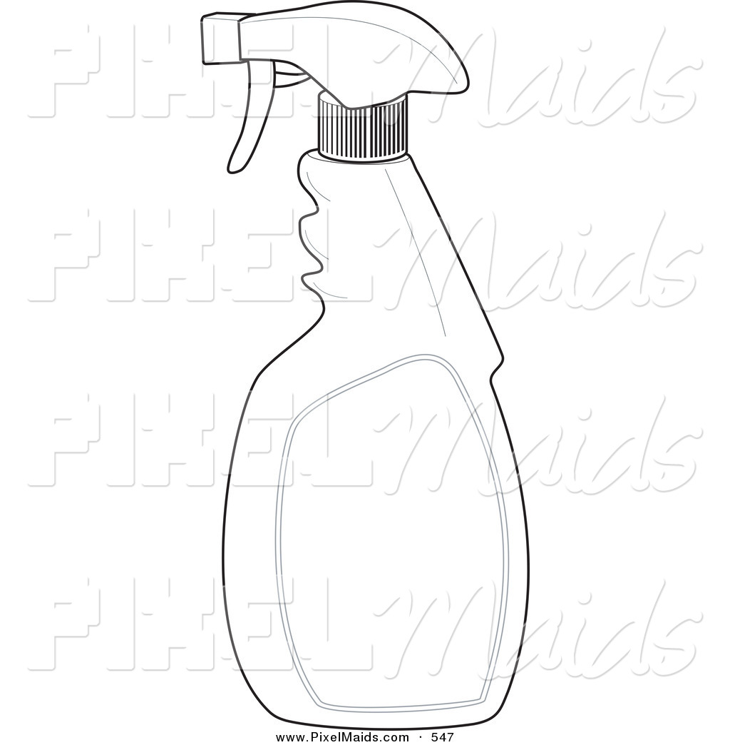 Royalty Free Coloring Page Stock Maid Designs