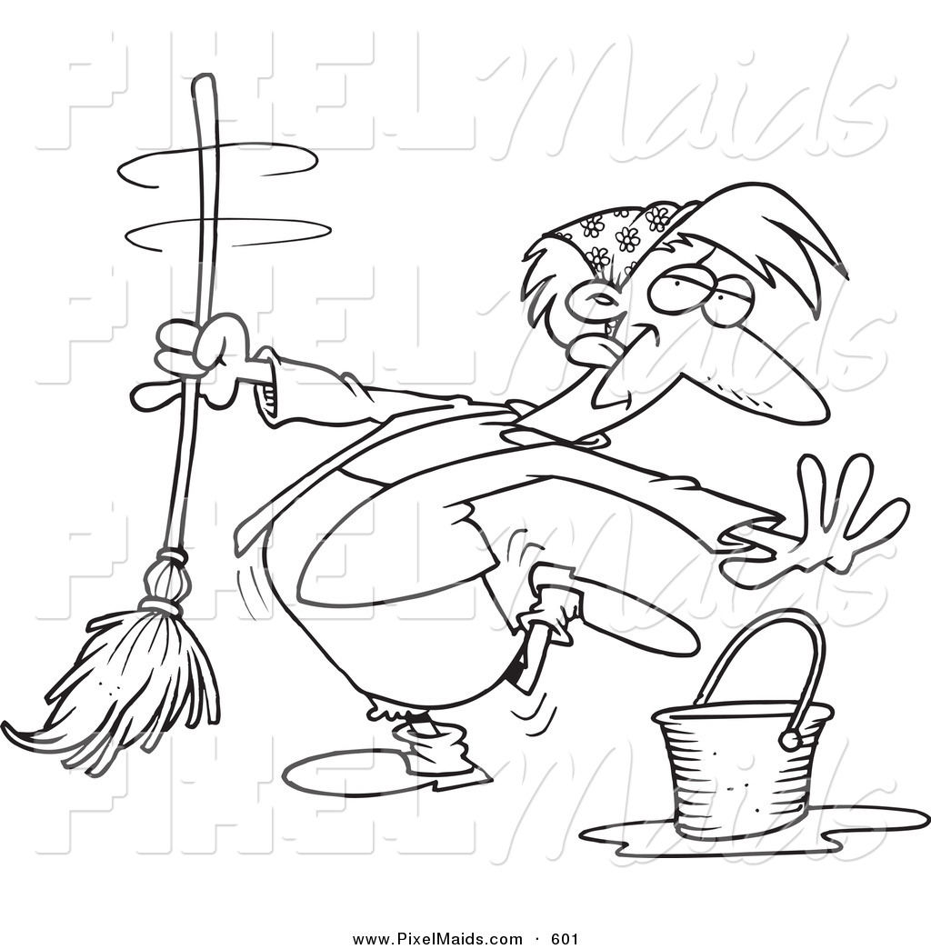 Royalty Free Stock Maid Designs Of Printable Coloring Pages