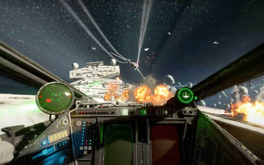 Star Wars Squadrons is fully playable in VR